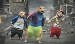 ハムスターのダンスは戦闘も止めさせちゃう キア ソウルの面白CM動画