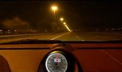 4名乗車のポルシェ 997 ターボ が公道で330km/h以上出しちゃう動画