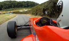 車重330kg+375馬力!隼のエンジンを積んだレーシングカーのヒルクライムオンボード動画