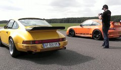 ルーフ CTR イエローバード vs ポルシェ 997 GT3 RS 加速対決動画