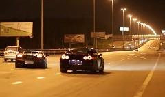 ランボルギーニ ガヤルド スーパーレジェーラ 1050馬力  vs 日産 GT-R 920馬力 公道加速対決動画 他