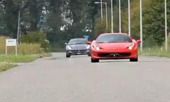フェラーリ FF と 458 イタリアのサウンドを楽しめる動画