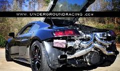 アウディ R8 V10 をツインターボ化して1000馬力にしちゃう動画