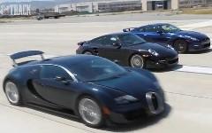 0-96km/h 2秒台クラブ 日産 GT-R、 ポルシェ 997 ターボS、ブガッティ ヴェイロンSS のタイムを測っちゃう動画