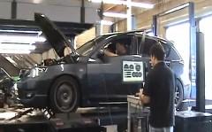マツダスピード アクセラを世界で最初に500馬力にしちゃった動画