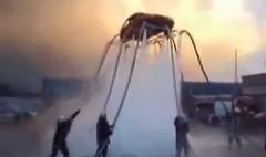 すげー!水の力だけで車を浮かせちゃう動画