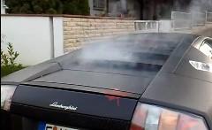 ランボルギーニ ムルシエラゴのエンジンが壊れちゃった動画