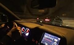 ポルシェ 997 GT2 vs 日産 GT-R 公道加速対決動画