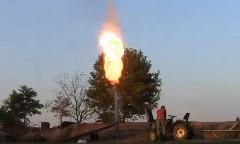 エアバッグで大砲を作ってみた面白動画