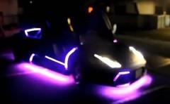 ランボルギーニ ムルシエラゴ をライトピカピカにしちゃった動画
