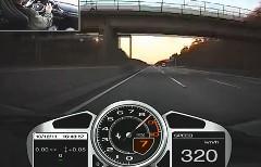 フェラーリ 458 イタリアがアウトバーンで320km/h出しちゃう動画