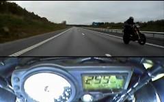 ターボ化したスズキ ハヤブサが350km/hでウイリーしちゃう動画