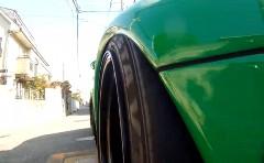 車高短ポルシェ 993 のタイヤの動きがよく分かる動画