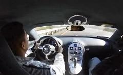 ブガッティ ヴェイロンが公道で360km/h出しちゃう動画