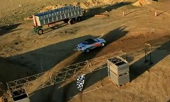 レースゲー Reckless Racing 2 を実車で再現してみた動画