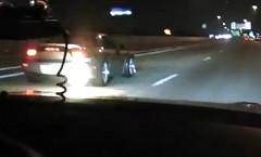 3ローター マツダ RX-7 vs 日産 GT-R 公道加速対決動画