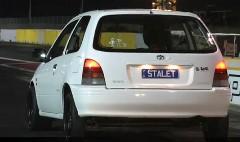 見た目普通すぎるトヨタ スターレットが超速かったっていう動画
