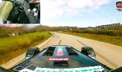ケーターハム セブン スーパーライト R300 が狭いラリーコースを爆走しちゃう動画