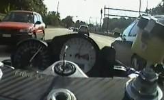 ジュネーブの公道を爆走するゴーストライダー風動画