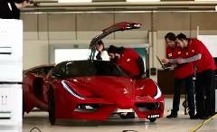 フェラーリ FXX 風のリアルな足こぎカーを作ってみた動画