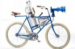 めちゃいい音!自転車に巨大ホーンをつけてみた動画