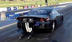 日産 GT-R で本格的なドラッグカーを作ってみた動画