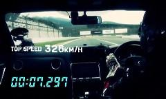 HKS GT1000 GT-R が富士のストレートで326km/h出しちゃう動画