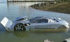 なんかスゴイ!世界最速の水陸両用車 シーライオン の動画