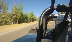 1400馬力のマシンがパイクスピークを激走しちゃう動画