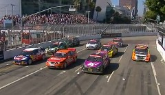 ラリーカー8台による迫力満点のレース X-Games 2012 ラリークロス決勝動画
