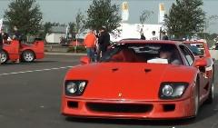 F40だらけ!フェラーリ F40 がシルバーストーンに集結しちゃった動画