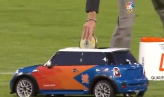 ロンドンオリンピックで活躍するミニのラジコンカーの動画
