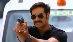 インド映画の刑事が見せる超クールな逮捕動画