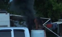 ディーゼルエンジンの黒煙は最高だぜ!ヒャッハー!っていう動画