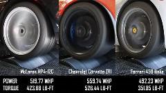 シボレー コルベット ZR1 vs フェラーリ 458 イタリア vs マクラーレン MP4-12C 走行性能比較動画