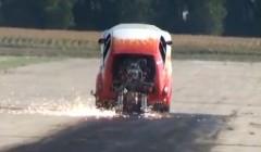 すげー!世界一速いウイリーカーの動画