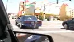はえー!公道を走行していたドラッグカーがあっという間に走り去っちゃう動画