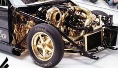 まるで楽器!エンジンを金ピカにしちゃったドラッグカーの動画
