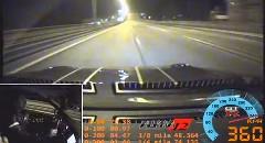 はえー!1250馬力の日産 GT-R が公道で360km/h出しちゃう動画