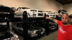 すごい数のスポーツカーコレクションがうらやま動画