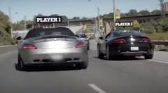 屋根に名前を付けたSLSとヴァンテージでトロントの街を走っちゃう Forza Horizon のプロモーション動画