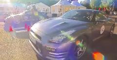 1100馬力 ポルシェ 9ff GT2 vs 720馬力 日産 GT-R 加速対決動画