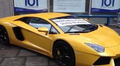イギリスすげえ!無保険車のランボルギーニ アヴェンタドールを押収して晒しものにしちゃう動画