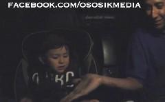 ターボ化したホンダ S2000 に2歳の男の子を乗せてみた動画