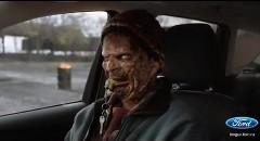 ゾンビから逃げろ!フォード エスケープの面白CM動画