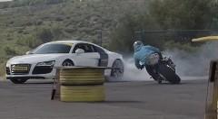 ジョリアン・ポノマレフのバイクドリフト ジムカーナ動画