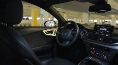 アウディが考える未来の完全自動駐車システム実車バージョン