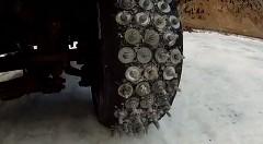 超強力なスパイクタイヤ作ったwww