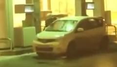 おそロシア!ガソリンで洗車しちゃう動画