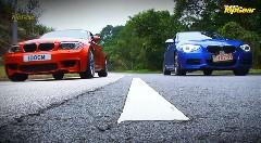BMW M135i F20 vs 1Mクーペ E82 加速対決動画